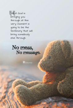 No test, no testimony