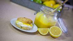 Lemoncurd - Sara La Fountain | 24Kitchen Fox Tv, Fountain, Sweets, Cakes, Breakfast, Food, Morning Coffee, Gummi Candy, Cake Makers