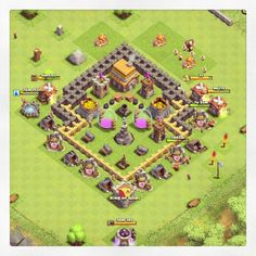 Clash of Clans- TH5 Base