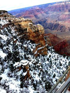 Snow in the Grand Canyon, Arizona