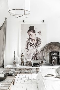 HOME & GARDEN: Le loft de Paulina Arcklin