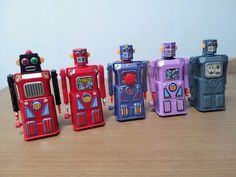 Look what I found on @eBay! VINTAGE JAPANESE ROBOT THE WORLD MOST WANTED GANG  r.ebay.com/T3d8CV
