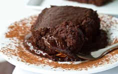 Ingredients:  63ml water  25g sugar  40g light corn syrup  20g unsweetened cocoa powder  14g bittersweet or semisweet chocolate, finely chopped     In a medium saucepan, whisk together all ingredients (except chocolates). Once it starts to boil, remove from heat & stir