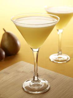 Asian Pear #Martini: Absolut Vanilla Vodka, pear, sake and passion fruit.