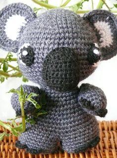 """#Koala #pattern #pdf #crochet #amigurumi $5.00"" #Amigurumi  #crochet"