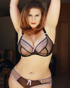 London Andrews in pretty lingerie; Freya Arabella