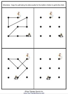 Visual motor activity that can serve as preparatory activity for students before handwriting tasks