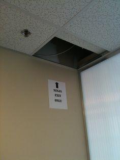 Ninja Exit Only OMG Loooooooooove