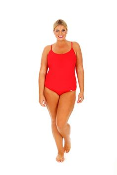 6aeb9fb1c78fd Chlorine Resistant Red Boyleg Pant Bottom Curvy Swimwear - ViewInvite.CO