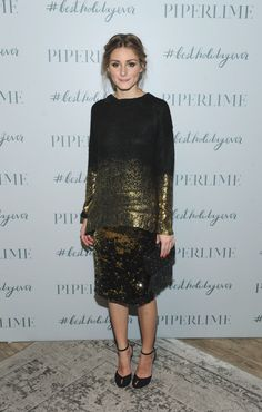 Olivia Palermo in the perfect NYE outfit. Photo: Piperlime