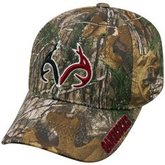 Adult Top of the World South Carolina Gamecocks Realtree One-Fit Cap ($25) ❤ liked on Polyvore featuring men's fashion, men's accessories, men's hats, green, mens camo hats and mens caps and hats