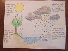 The Inspired Classroom: About to Start Weather Water Cycle 4th Grade Science, Elementary Science, Middle School Science, Science Classroom, Science Fair, Teaching Science, Science Education, Life Science, Physical Science