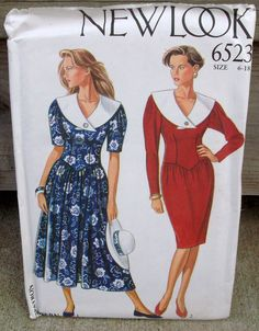 Uncut  New Look Pattern 6523  Misses' Dress by lovelylovepatterns, $3.50