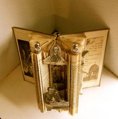 Edgar Allan Poe altered Book by Raidersofthelostart on Etsy