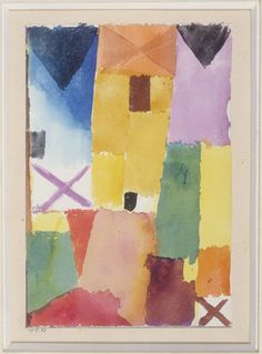 Paul Klee Yellow House (Gelbes Haus)