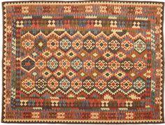 Kelim Afghan Old style tapijt 217x277