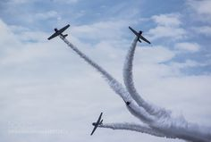 Air Show Acrobatic Flying Team by rlt042