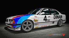DINAN E34 Race Car Replica Livery