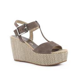 Sandales brunes | Unisa | Brantano