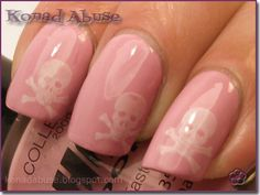 Skulls and proper girlie pinks OWN!