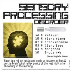 EO for Sensory Processing Disorder