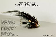 Waehaeniva Pattern & Description. Tied by Torve @ scandiflies.com