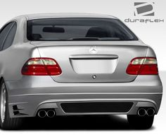 1998-2002 Mercedes CLK W208 Duraflex BR-T Rear Bumper Cover - 1 Piece