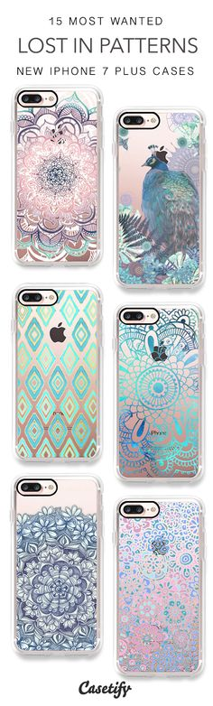 Lost in patterns. 15 Most Wanted Pattern iPhone 7 Cases and iPhone 7 Plus Cases here > https://www.casetify.com/artworks/UjB3749xw7