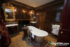 The Witchery by the Castle - the Turret Suite Edinburgh Hotels, Edinburgh Castle, Edinburgh Scotland, Other Rooms, Beautiful Bathrooms, Hotel Reviews, Restaurant, Mansions, Luxury