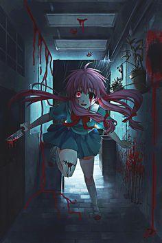 Oh, la psicopata mas bella, Gasai Yuno