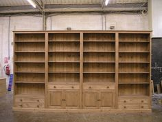 Custom made for you, hand crafted by LPC. Solid oak and pine, environmentally and ethically sourced. made in Britain. Bespoke Furniture, Bookcases, Solid Oak, Handmade, Home Decor, Hand Made, Decoration Home, Libraries, Room Decor