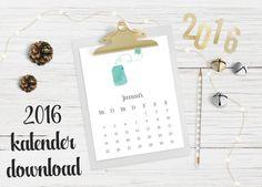 Die 59 Besten Bilder Von Diy Kalender Free Printables