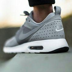 "Nike Air Max Tavas Premium ""Wolf Grey"" available @titoloshop"