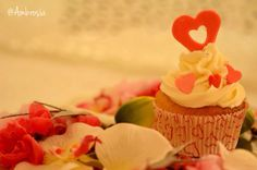 Nothing says I love you like a cupcake :D #Vanilla #Hearts #Valentine #TrueLove #Cupcakes #Desserts #SweetTreats #FoodPhotography #Ambrosia