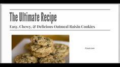 Greatest Gluten Free Oatmeal Raisin Cookies Revealed by Health Nutrition News
