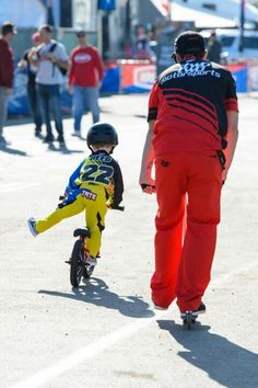 Chad Reed and his son.....precious
