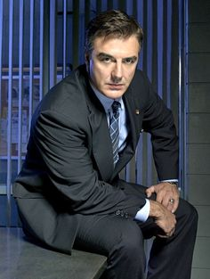 Mike Logan from Law and Order, <3  Actor Chris Noth--one of my favorites.