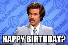 Anchorman birthday