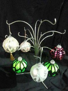Crochet ornaments i made in November 2014