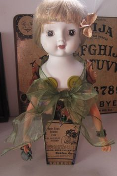 AlTerEd aRt rePurPoSed doLL PaRtS OOak by SauvageRavenCreation SOLD