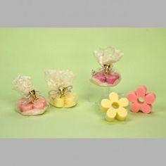 Jabón flor en bolsita de organza