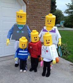 Gruppenkostüme für Fasching - Karnevalskostüme für Klein und Groß. Lego PeopleHalloween Costume IdeasDiy ... & Coolest Homemade Zombie Costume Ideas | Pinterest | Homemade zombie ...