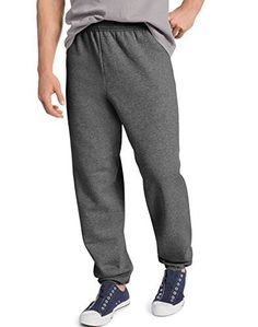 Product review for Hanes ComfortBlend EcoSmart Men`s Sweatpants - Best-Seller, P650, S -  7.8 oz., 50/50 cotton/polyesterMade with up to 5% recycled polyester from plastic bottlesPatented, low-pill, high-stitch density PrintPro XP fleeceDifferentiating front and back riseFour-needle elastic waistband with inside drawstringDouble-needle elastic cuffs Tag-free label  -  http://www.bestselleroutlet.net/product-review-for-hanes-comfortblend-ecosmart-mens-sweatpants-best-seller-