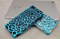 Iphone 5 Case  Handmade Blue Bling Crystal Rhinestones by tilroom, $11.99