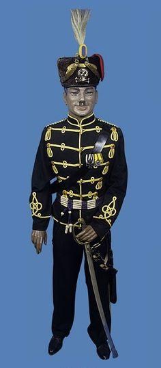 One year volunteer uniform to a Hussar in the 17th Braunschweig Hussar Regiment.
