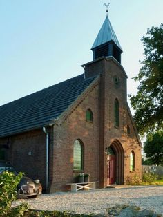 Historical church turned into a private home, Haarlo, The Netherlands - This is amazing!