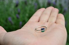 Sterling Silver Ring  Saturn  Green and Blue by maldonadojoyas, $22.00