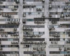 "Michael Wolf. Photographic Series ""Architecture of Density"" Hong Kong"