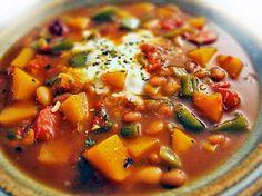 Gluten Free Soup recipes    http://glutenfreegoddess.blogspot.com/2008/01/gluten-free-chili-soup-stew-recipes.html