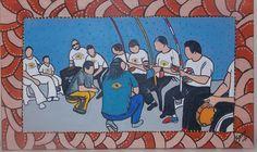 Iê Capoeira IV - Pintura (Acrílica) - Juliano Silva